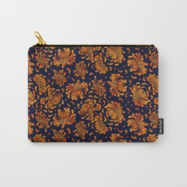 Korean Chrysanthemum - Orange Carry-All Pouch
