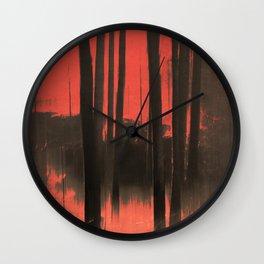 Blood moon Wall Clock