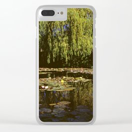 Water Garden Reflections Clear iPhone Case
