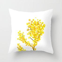 Mimosa 1 Throw Pillow