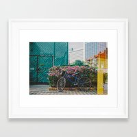 singapore Framed Art Prints featuring Singapore by Tosha Lobsinger is my Photographer