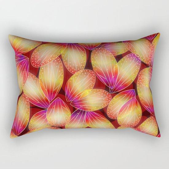 Fire Fairy Wings Rectangular Pillow
