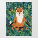 Fox Yoga by travellingfoxdesign