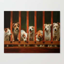 The Dogs of Linden Canvas Print