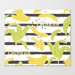 Tropical Bananas Canvas Print
