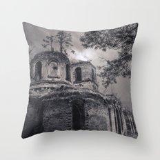 Ruins Throw Pillow