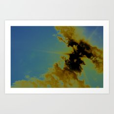 there's sulfur in the air Art Print
