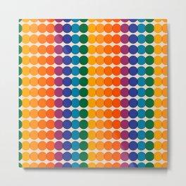 Rainbow Overprint Metal Print