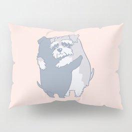 Schnauzer  Hugs Pillow Sham
