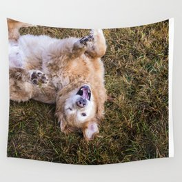 Smiling Face Wall Tapestry
