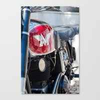 moto Canvas Prints featuring Moto by Sébastien BOUVIER