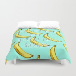 Monkey Love Duvet Cover
