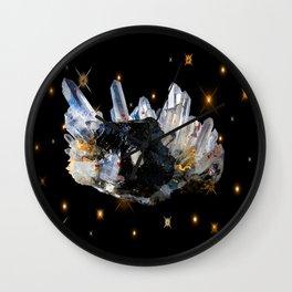 Star Aura Quartz Wall Clock