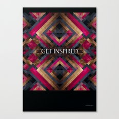 Get inspired Canvas Print