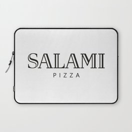 SALAMI PIZZA - taste for fashion Laptop Sleeve