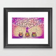 owl-920 Framed Art Print