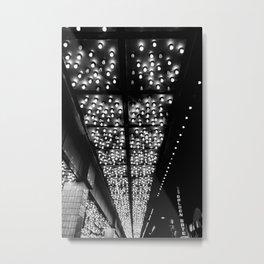 Casino Lights Metal Print