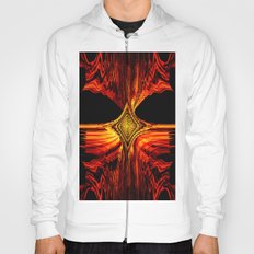 Abstract.Red Flame. Hoody
