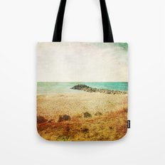 Beach in southern France - summer memories Tote Bag