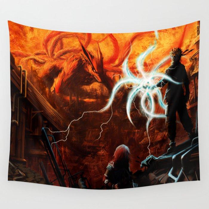 kyuubi Wall Tapestry