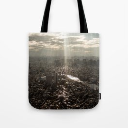 Tokyo View Tote Bag