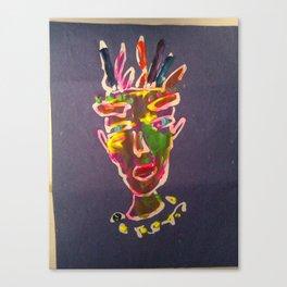 ritratto di re Canvas Print