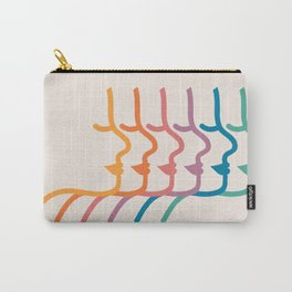Boca Silhouettes Carry-All Pouch