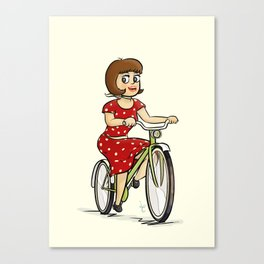 Bicycle. Canvas Print