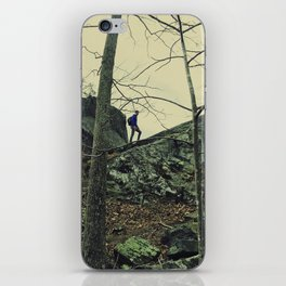 The Climber iPhone Skin