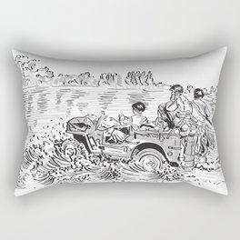 1944 Willys Jeep Rectangular Pillow