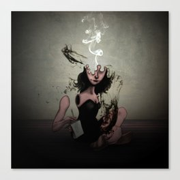 "The Poet ""Smoke"" Canvas Print"