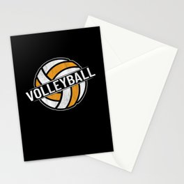 Volleyball Stationery Cards
