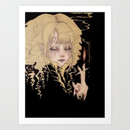 Light My Darkness Art Print