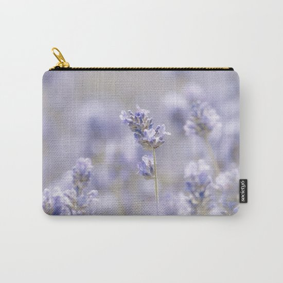 Lavenderfield - Lavender Summer Flower Flowers Floral on #Society6 Carry-All Pouch