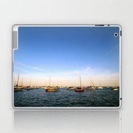 Lake Michigan Sailboats Laptop & iPad Skin