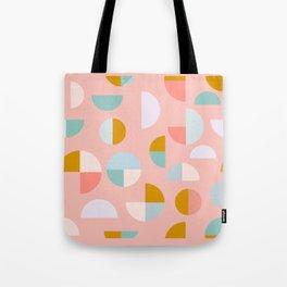 Pretty Geometric Painting Tote Bag