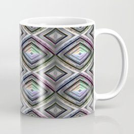 Bright symmetrical rhombus pattern Coffee Mug