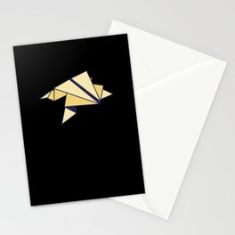 Frog Origami Stationery Cards