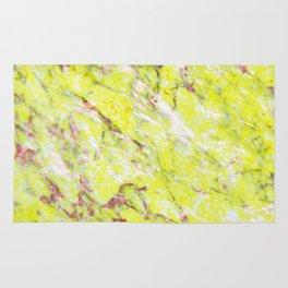 Lemon & Pink Marble #society6 #buyart #decor Rug