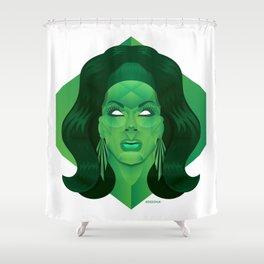 Jade Shower Curtain