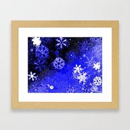 Blizzard Framed Art Print