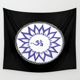Ohm Flower Wall Tapestry
