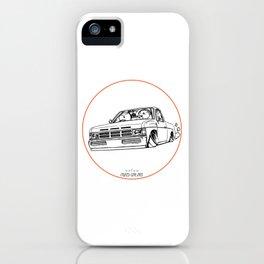 Crazy Car Art 0207 iPhone Case