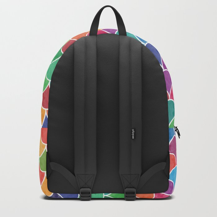 Watercolor Lovely Pattern VVXVI Backpack