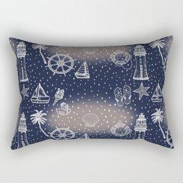 Sailor print Rectangular Pillow