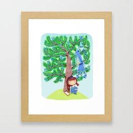 The Juniper Tree  Framed Art Print