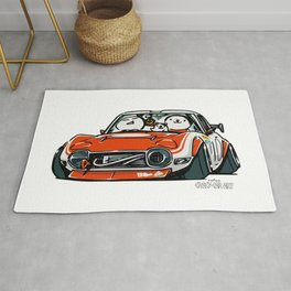 Crazy Car Art 0136 Rug