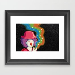 Let the Laughter Begin Framed Art Print
