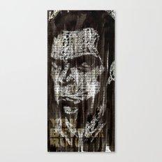 Nick Cave, a portrait. Canvas Print