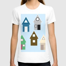 Rainbow Houses T-shirt